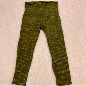 Zella cropped leggings size small